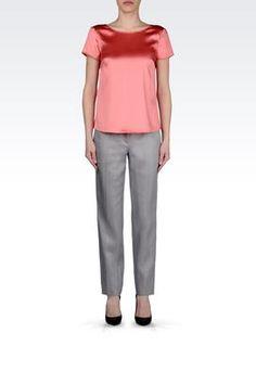 Pantaloni Armani Collezioni Donna su Armani Collezioni Online Store