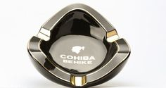 Cohiba BEHIKE Black Oval Cigar Ashtray