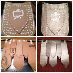 Tutorial soldado romano Cardboard Costume, Cardboard Crafts, Roman Soldier Costume, Medieval Party, Medieval Banquet, Rome Antique, Christmas Program, Roman Soldiers, Church Activities