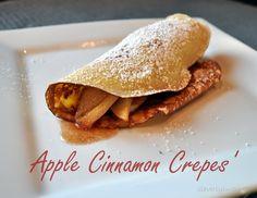 Simple Apple Crepes