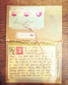 Stars in Jars: Je vous écris afin de voir comment vous êtes--I am writing to see how you are