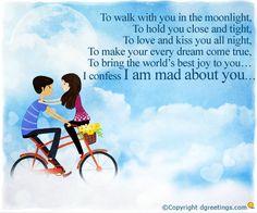 Dgreetings.....    I love u Madly.......<3<3<3