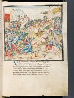 Diebold Schilling: Amtliche Berner Chronik, Band 3 Place of origin: Bern Date of origin: 1478-1483