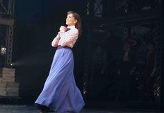 Kara Lindsay as Katherine Plumber in Broadway's Newsies