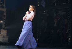 Kara Lindsay as Katherine Plumber in Broadway's Newsies