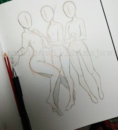 Drawing Tips Pose practice You guys can use it as reference if you want~ Figure Drawing Reference, Drawing Reference Poses, Hand Reference, Art Drawings Sketches, Cute Drawings, Drawing Techniques, Drawing Tips, Learn Drawing, Drawing Ideas