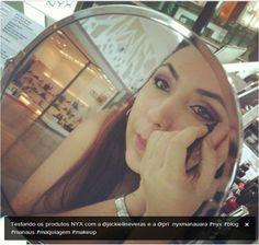 @prix_oliveira no quiosque da NYX do shopping Manauara