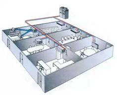 Outside AC Unit Diagram Diagram of a central air