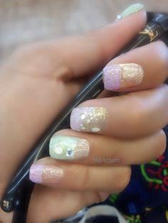 Nail Art Simple Pastel Elegance