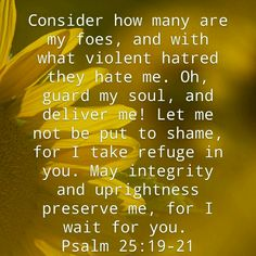 He is our refuge.