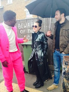 Low Expectations behind the scenes! Clothes from Fyodor Golan AW14 'Crocodile'