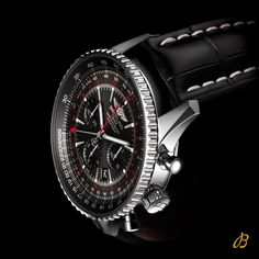 """8,028 Likes, 35 Comments - BREITLING (@breitling) on Instagram: """"Navitimer GMT: With Stratos Gray dial, and a red track from the second timezone - issued in a…"""""""