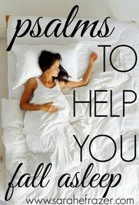 Psalms to Help You Fall Asleep - Sarah E. Frazer Bible Prayers, Bible Scriptures, Bible Quotes, Catholic Prayers, Christian Women, Christian Faith, Christian Living, Christian Marriage, Christian Verses