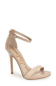 Sam Edelman 'Eleanor' Ankle Strap Sandal (Women) available at #Nordstrom