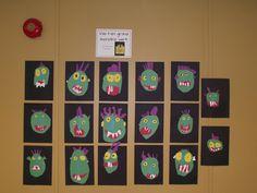 La maternelle de Francesca: Va-t'en grand monstre vert!