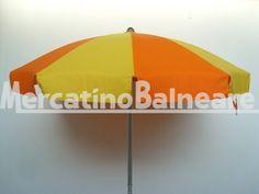 Ombrelloni professionali per spiaggia in alluminio CON TESSUTO NUOVO Q.TA' 10 EURO 68.00 - Mercatino Balneare ombrelloni con fusto in ottime condizioni palo alluminio baionetta tessuto nuovo tempotest parà a spicchi arancio gialli prezzo cadauno + iva +trasporto Quantità: 10 Prezzo € 68.00+iva https://www.mercatinobalneare.it/annuncio/ombrelloni-professionali-per-spiaggia-in-alluminio-con-tessuto-nuovo-q-ta-10-euro-68-00-2/ #stabilimentobalneare #attrezzaturaba