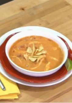 Cheesy Tortilla Soup -- This quick video shows you how to make our cheesy (and oh-so-easy) tortilla soup. Find out firsthand why it's one of our top-rated recipes!