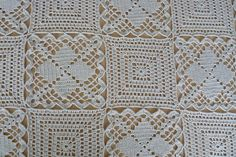 Ravelry: A Bedspread, made from two motifs pattern by Mimi Atanasova