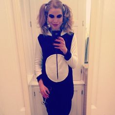 Pin for Later: 25 Halloween Costumes For Introverts Panda J'adorable.