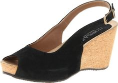 Cordani Womens Alissa Slingback Sandal,Black Suede,39 EU/8.5-9 M US.  check discount today! click picture on top