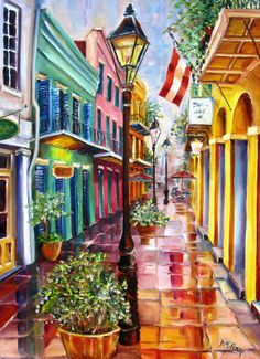 New Orleans Exchange Alley - Diane Millsap