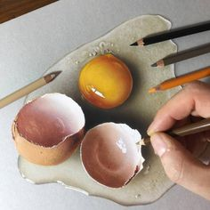 Looks so realistic I had to look twice! Credit to for the amazing repost! 😊Looks amazing 👌 ------------------------------------------------ Colored Pencil Artwork, Pencil Art Drawings, Color Pencil Art, Realistic Drawings, Colorful Drawings, Colored Pencils, Art Sketches, Zbrush, Digital Art Beginner
