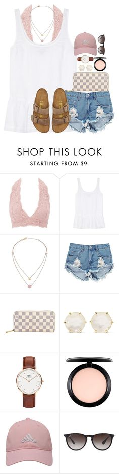 """comment something ab me to make me smile(: & ill do the same to u (:"" by thefashionbyem ❤ liked on Polyvore featuring Charlotte Russe, J Brand, Michael Kors, Boohoo, Louis Vuitton, Ippolita, Daniel Wellington, MAC Cosmetics, adidas Golf and Ray-Ban"