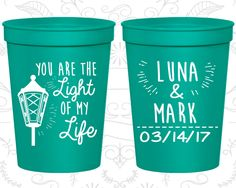 Personalized Stadium Cups, Personalized Cups, Wedding Cups, Personalized Plastic Cups, Stadium Cups, Party Cups, Plastic Cups (261)