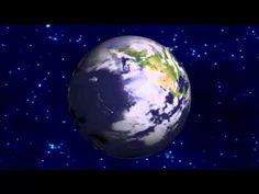 El planeta tierra dando vuelta