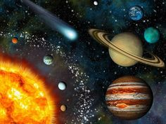 Realistic 3D Solar System Wallpaper Vinyl Wall Mural ✓ Easy Installation ✓ 365 Day Money Back Guarantee ✓ Browse other patterns from this collection!