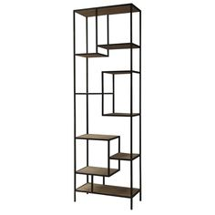 (http://www.zinhome.com/geometric-reclaimed-wood-and-iron-bookcase-102/)