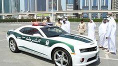 Chevrolet Camaro SS Is Also Part Of Dubai Police Fleet