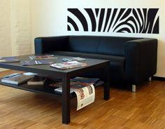 Zebra wall application