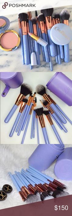 Luxie Dreamcatcher Brush Set Luxie Beauty  •Brand new in packaging, NEVER OPENED!! •Selling for $150 to get most of what I paid back, I am aware this is the retail price and I will not lower my price. They are Brand new, unopened, still in the box Luxie shipped them to me in. •I will open and photograph/video record the condition of and me packing the item up to avoid fraudulent activity  •100% AUTHENTIC!!!!  •Total of 15 Brushes   💕NOTE: None of the MAC Cinderella products are included…