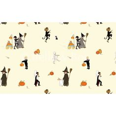 """Halloween"" Cotton Poplin - Belle & Boo"