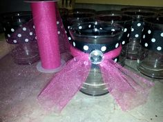 Minnie party candle holder
