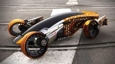 Ambitious Design Of The Futuristic 3-D Printed Vehicles (32 Pictures + VIDEO)   4th Place — Firanse R3 by user Luis Cordoba from Mexico
