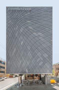 Before & After - A 1980's Office Building Gets Covered In Creativity...  DaeWha Kang Design have completed the transformation of a dull 1980's era office building in Seoul, South Korea, into a contemporary building covered in creative touches.