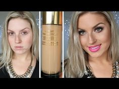 First Impression Review ♡ YSL Touche Eclat Foundation - YouTube