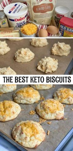 Biscuits Au Cheddar, Biscuits Keto, Cheddar Cheese, Easy Biscuits, Queso Cheddar, Keto Pancakes, Low Carb Bread, Keto Bread, Low Carb Keto