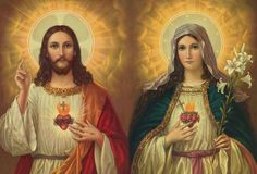 Most Sacred Heart of Jesus and the Immaculate Heart of Mary