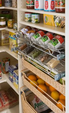 Pantry Pull-out Racks - contemporary - kitchen - new york - transFORM | The Art of Custom Storage