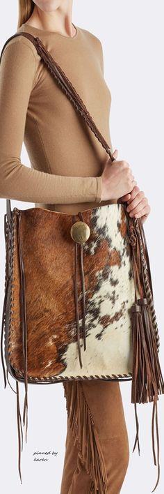 Diamond Cowgirl ~ Ralph Lauren Diese und weitere Taschen auf www.designertasch... entdecken Handmade Handbags & Accessories - http://amzn.to/2iLR27v