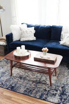 5 Ways to Style Navy at Home