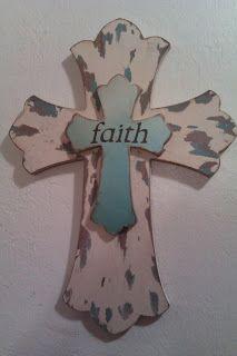 Distressed Wood Cross