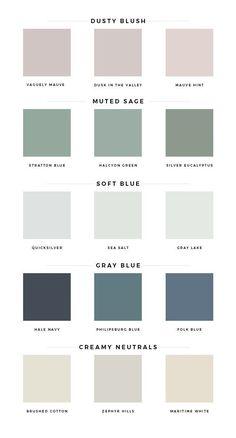 Spring Color Palette, Pastel Colour Palette, Colour Pallete, Spring Colors, Colour Schemes, Pastel Colors, Muted Colors, Mint Paint Colors, Color Trends