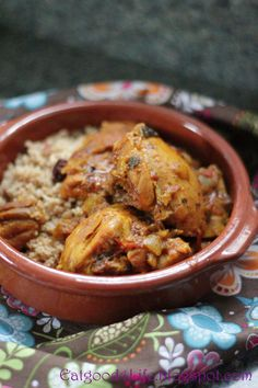 Moroccan Chicken (Just skip the cumin, everything else looks good)