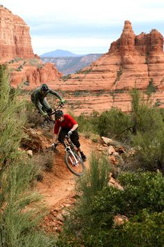 Sedona offers 170 miles of single track mountain biking trail!