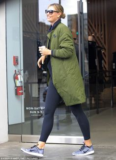 Happy days! Maria Sharapova was spotted leaving Alo Yoga store in Beverly Hills on Friday with a huge smile on her face