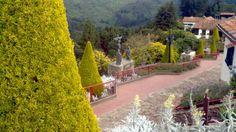 Jardines de Monserrate, Bogotá. 1/3/2013